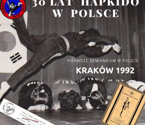 Pierwsze seminarium Hapkido w Krakowie.